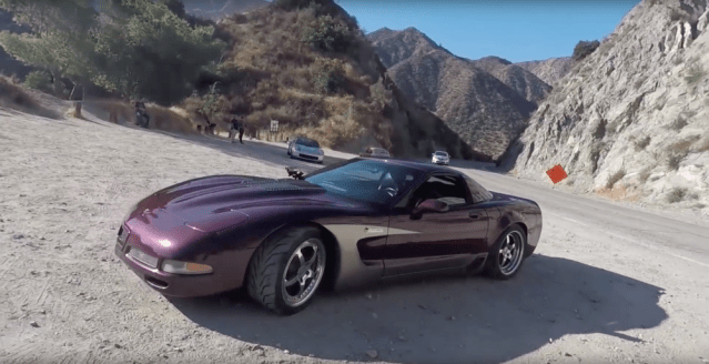 Matt Farah drives an 800-plus HP C5 Corvette.