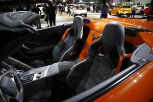 Chevrolet Corvette ZR1 at Los Angeles Auto Show