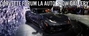 Chevrolet Corvette ZR1 at Los Angeles Auto Show Banner