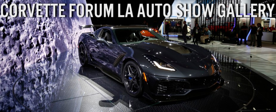 Chevrolet Corvette ZR1 at Los Angeles Auto Show Banner