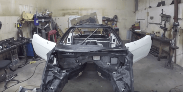 C6 Corvette Formula Drift Build