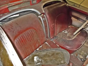 1954 Chevy Corvette Barn Find Sportsman Red