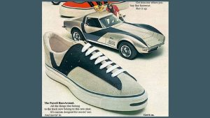 Crop of Jack Purcell RaceAround Sneaker Ad
