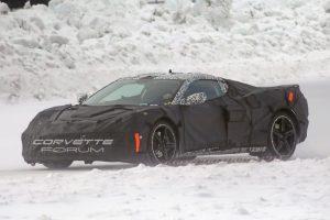 Mid-Engine Corvette Spy Shot 2018