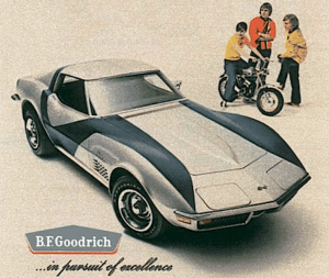 1972 Corvette and Rupp Roadster