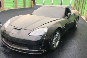 2009 Corvette Z06 Front 3/4