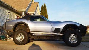 Corvetteforum.com C3 Corvette Lifted 4x4 Off-road