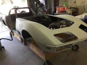 Corvette Body Off Basket Case Project