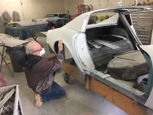 Corvette Body Off Basket Case Project