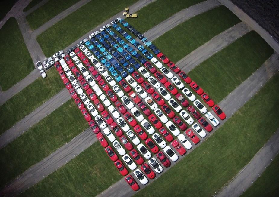 CorvetteForum.com Corvettes at Carlisle 2018 Stand and Support the Flag