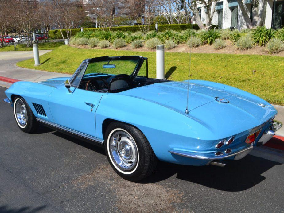 Jewel Blue 1967 Corvette Convertible