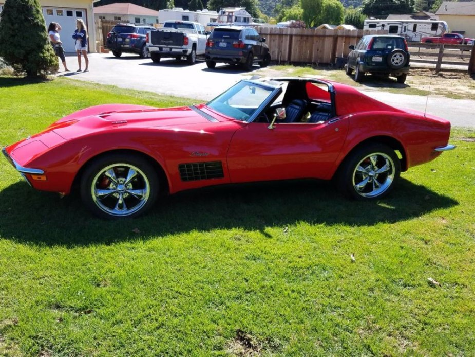 1971 Corvette 454 Side