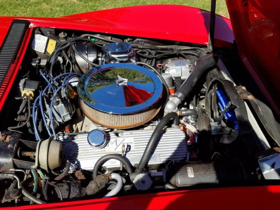 1971 Corvette 454 Engine