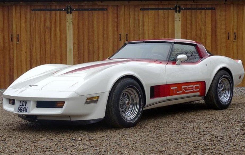 1980 Corvette For Sale >> Rare Turbocharged 1980 Chevrolet Corvette For Sale In The Uk