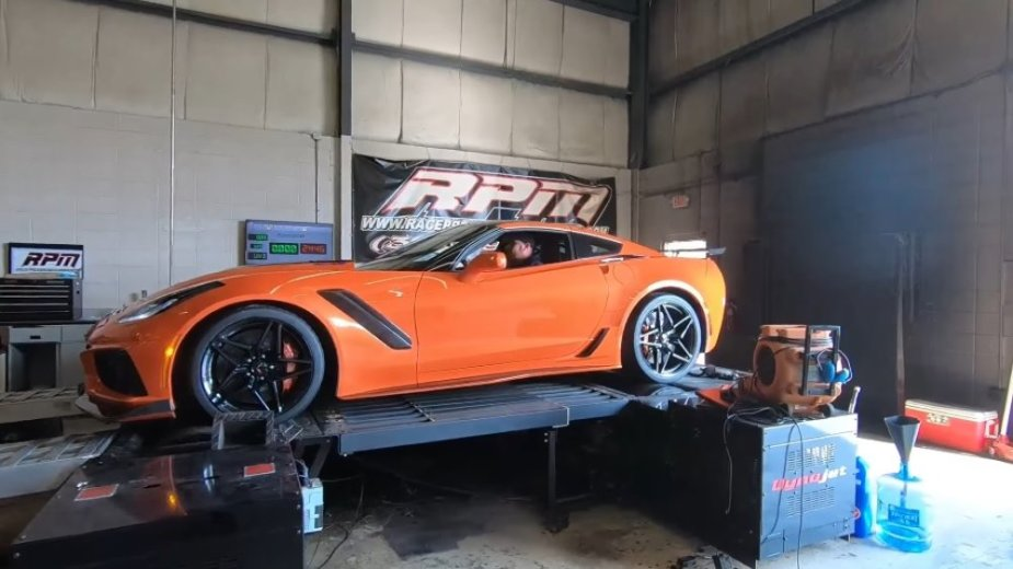 2019 Corvette ZR1 on the Dyno