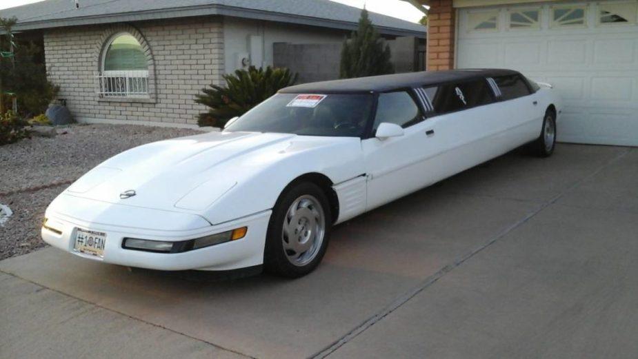 C4 Corvette limo