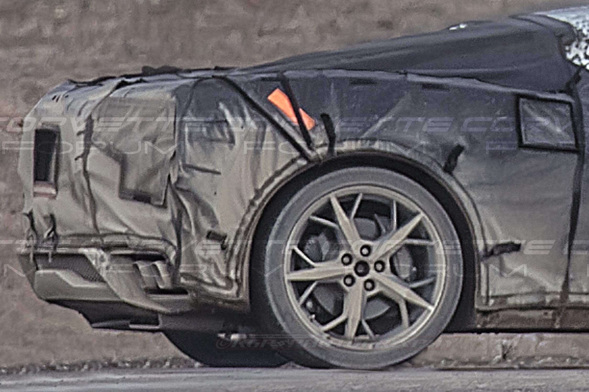 Corvetteforum.com Spy Shots Corvette C8 Zora Mid-Engine News Story Updates