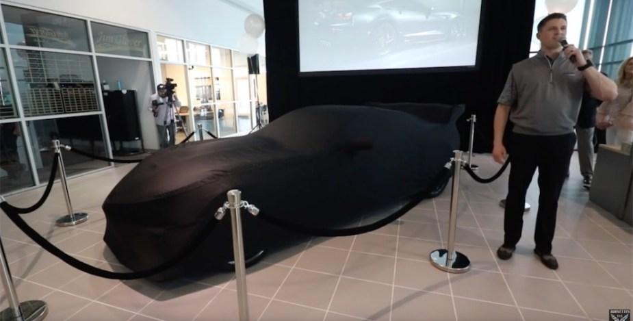 2019 Corvette ZR1 delivery video