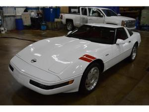 Low-Mileage C4 Corvette Subject to Tacky Modifications