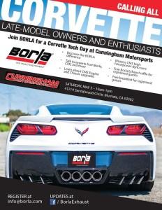 Corvetteforum.com Borla Tech Day at Cunningham Motorsports