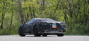 Mid-engine Corvette Rear Driver's Side