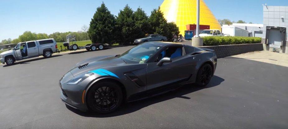 New Grand Sport Corvette