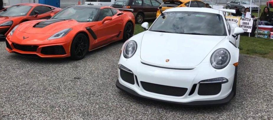 Porsche GT3RS and C7 Corvette ZR1