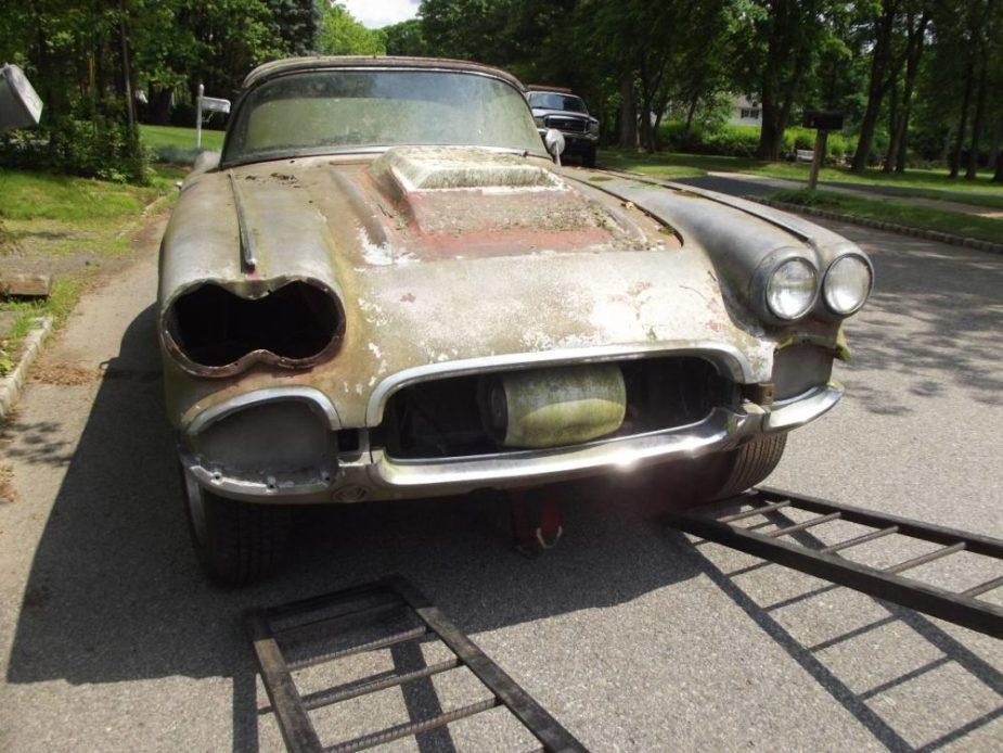 C2 Corvette Gasser barn find