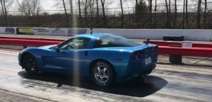 Corvette Launching