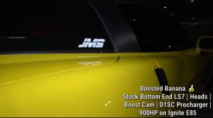 900 horse C6 Z06 Corvette.