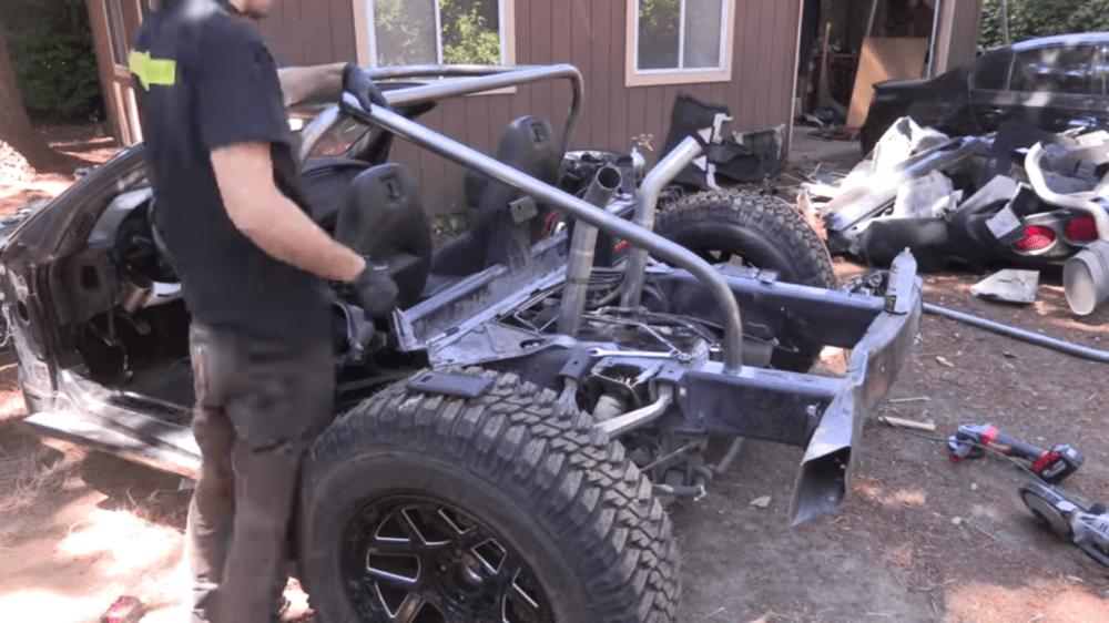 Corvette Roll Cage