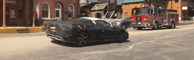 corvetteforum.com Mid-engine C8 Corvette Spied in Colorado