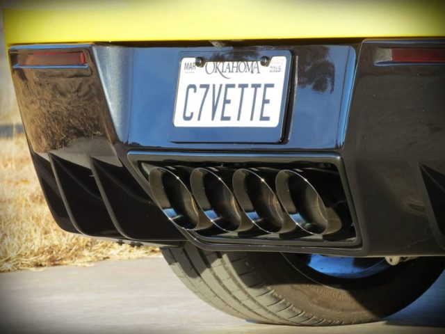 C7 Corvette Z06 Exhaust