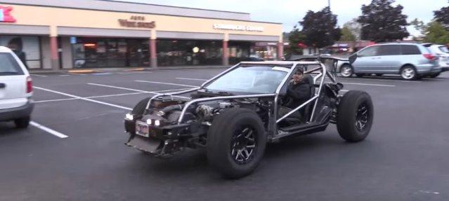 Dr. Jenkins Corvette on Road
