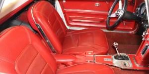 1965 Corvette C2 Convertible Hardtop Manual Transmission Red Interior Corvetteforum.com