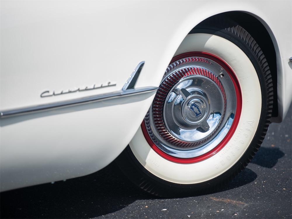 1953 Corvette C1 RM Sotheby's Monterrey Pebble Beach Corvetteforum.com