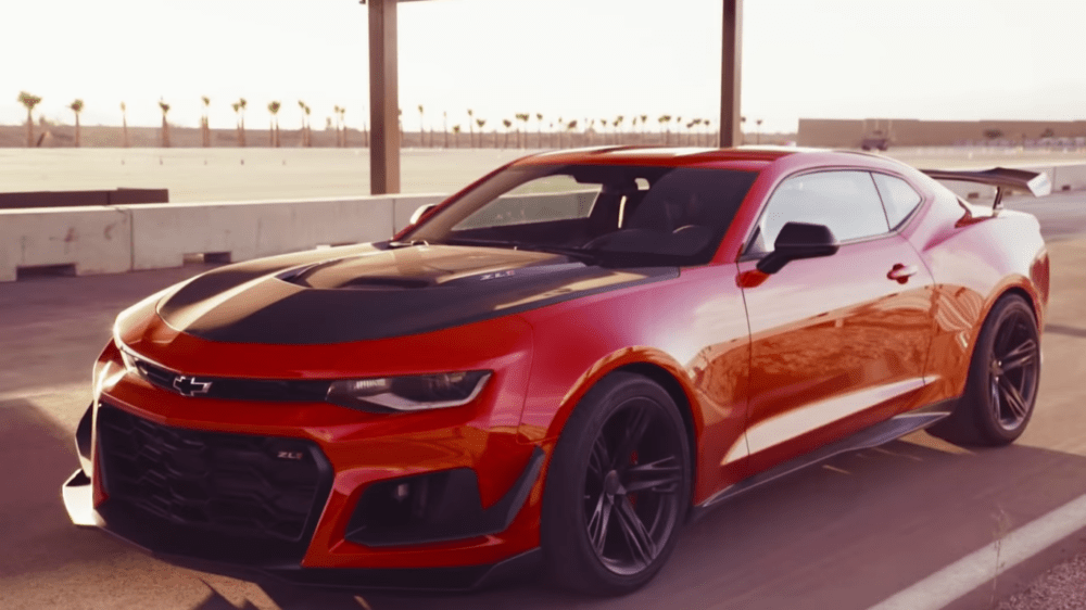 Zr1 Pitted Against Camaro Demon In Three Way Comparison