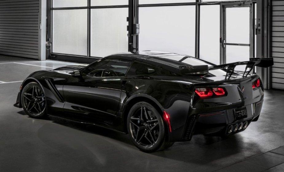 2019 Corvette ZR1 Rear Wide