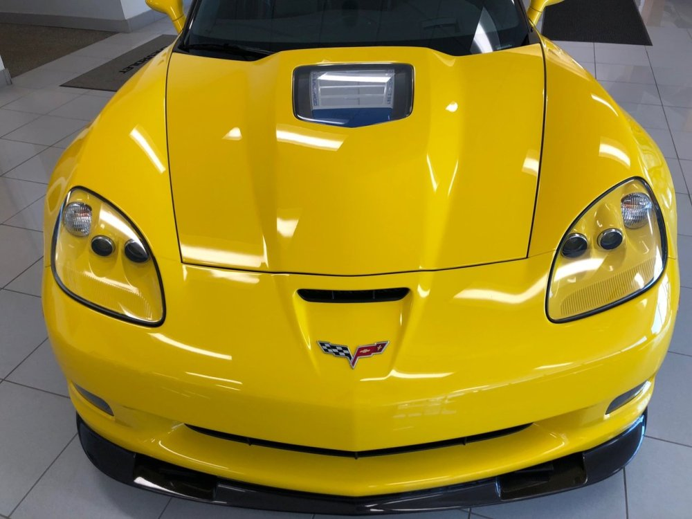 Velocity Yellow C6 Corvette ZR1