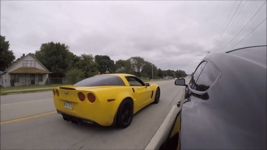 C6 Z06 bolt-ons Mustang EcoBoost twin turbo V6
