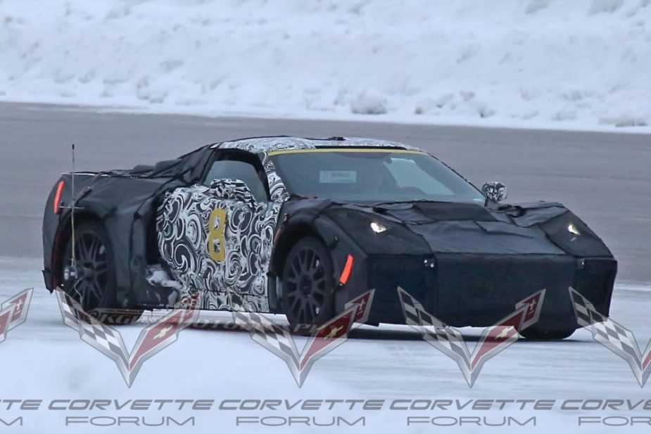 Mid-Engine C8 Corvette
