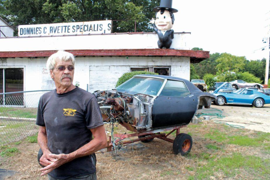 Corvette Restorer Donnie Hall Jr