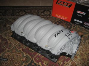 FAST 12 LS2 Corvette Intake Manifold