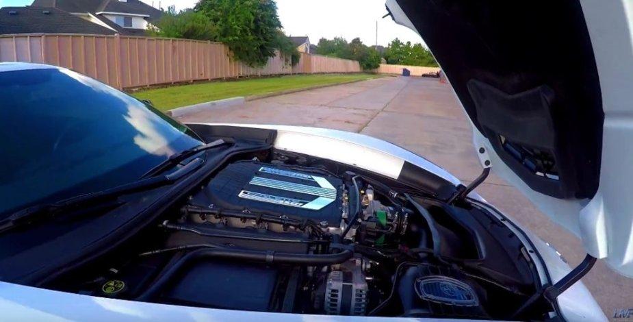 LT4 in a Corvette Stingray