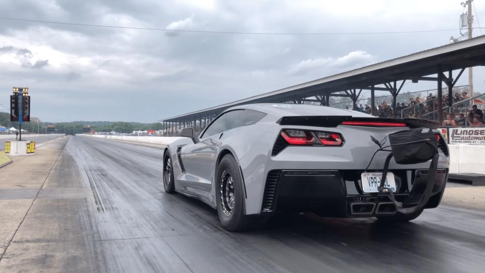 Stangkilr C7 Corvette procharged LS fest drag