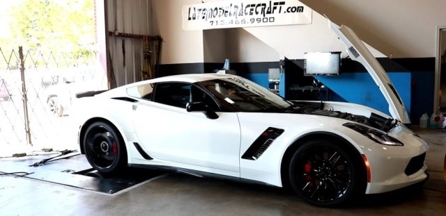 LMR750 Corvette Z06 on the Dyno