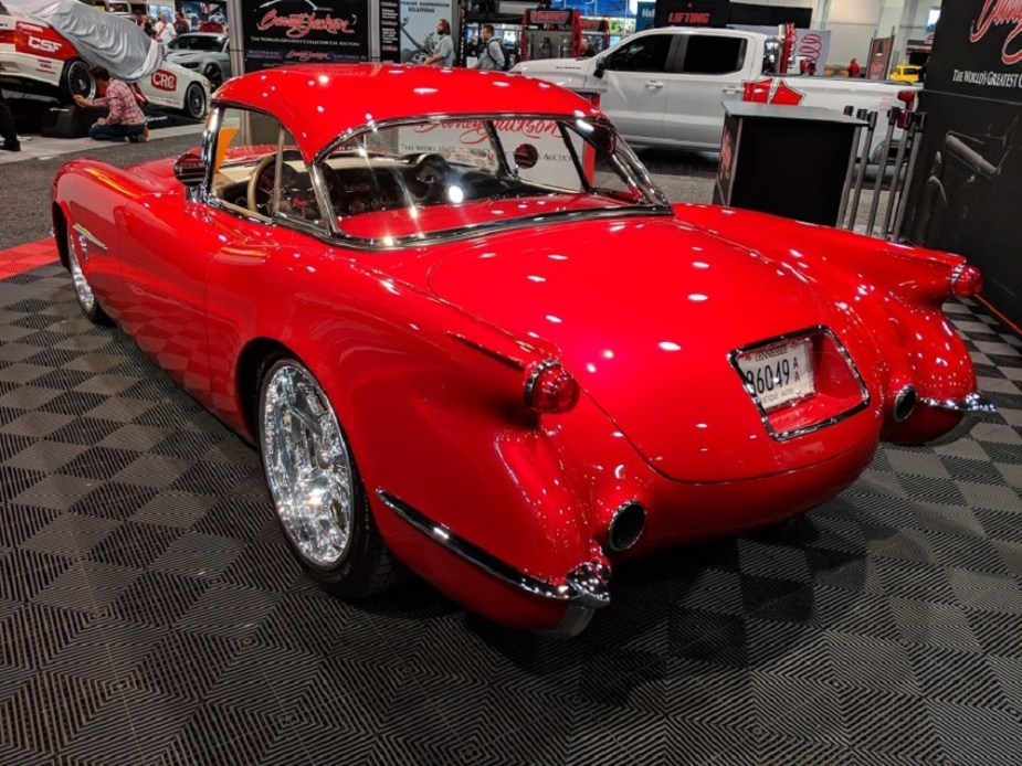 "Barrett-Jackson 1954 Corvette ""Transitions"" +SEMA"