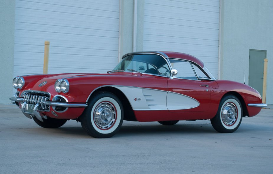 1960 Corvette Low Driver's Front
