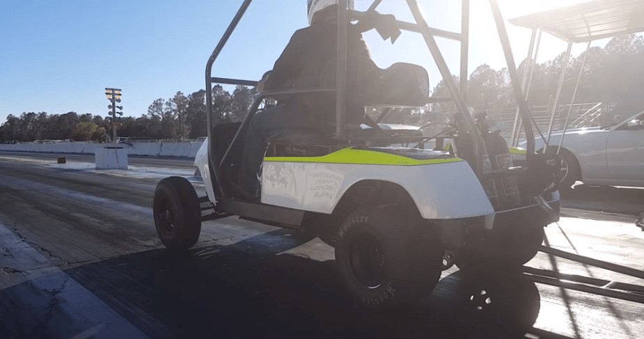 Hayabusa-Powered Golf Cart