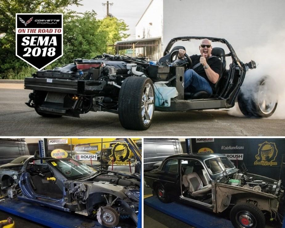Grand Sport Corvette Volvo Mashup Dubbed   VO6  to Debut at SEMA ... eae158009f